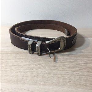 Leather belt, Lucky brand, brand new